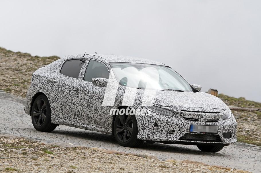 Honda Civic Hatchback 2017, sigue poniéndose a punto su versión europea