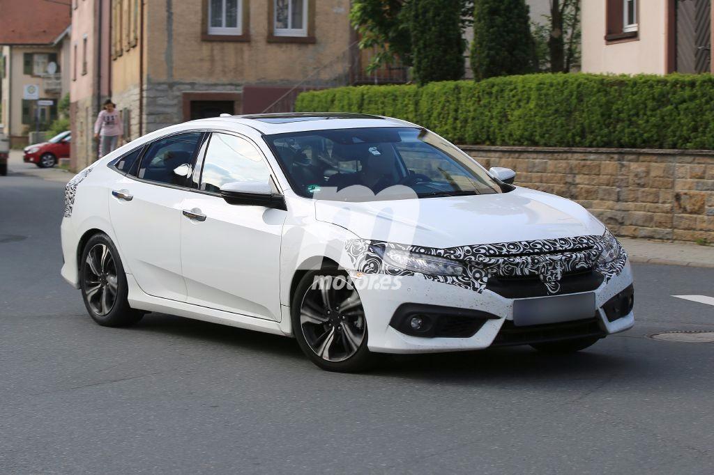 Los nuevos Honda Civic 2017 sedan y compacto se preparan para su aterrizaje en Europa