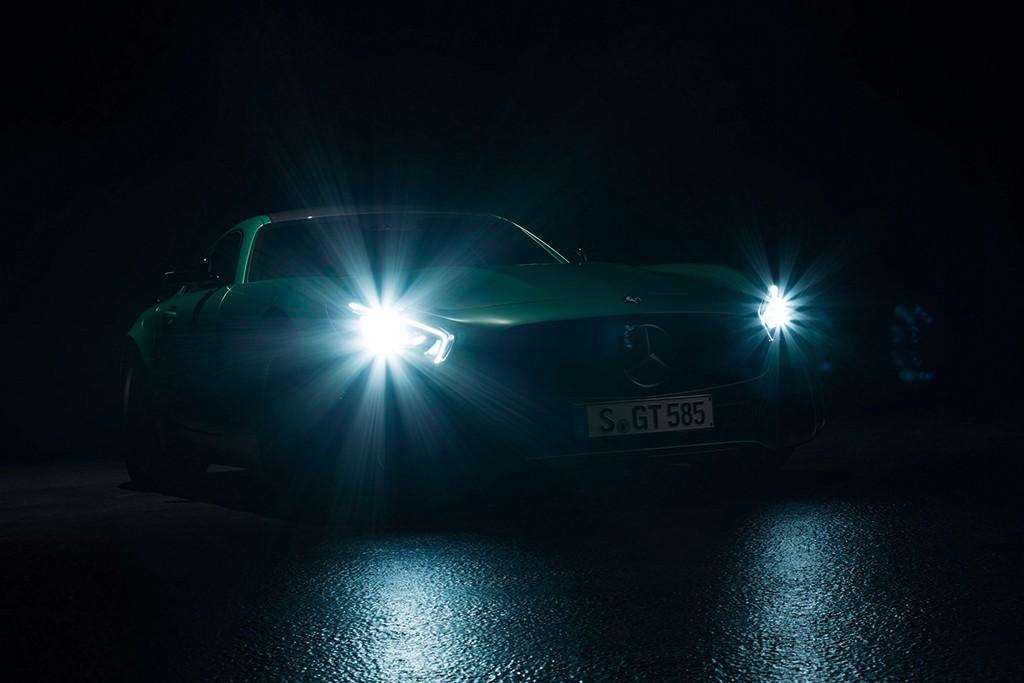 El fiero Mercedes-AMG GT R se deja ver antes de ser presentado en Goodwood