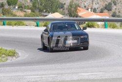 La 'mula' del nuevo Audi A7 Sportback, de pruebas en España