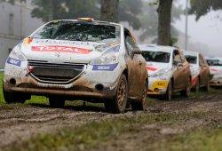 Naufragio español en el barro del Rally Terre de Langres