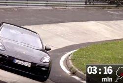 Porsche Panamera Turbo 2017, la berlina más rápida en Nürburgring