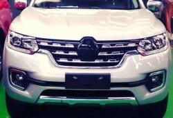 Renault Alaskan, filtrado: así será el frontal de la nueva pick-up
