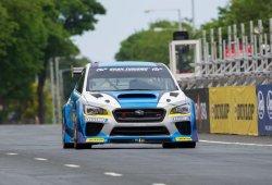 Mark Higgins, un Subaru WRX STi y el récord de Isla de Man