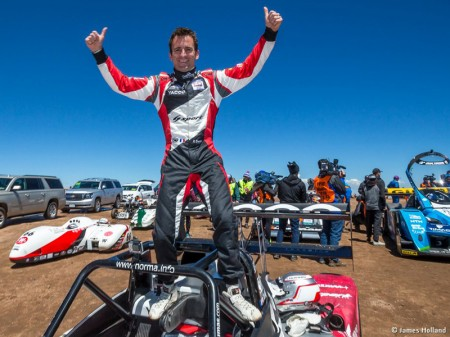 La victoria de Romain Dumas en Pikes Peak desde dentro