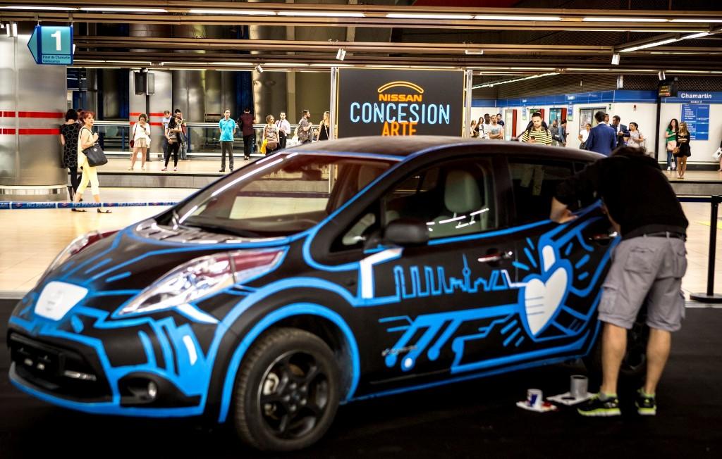 #Concesionarte, Nissan rediseña la ciudad