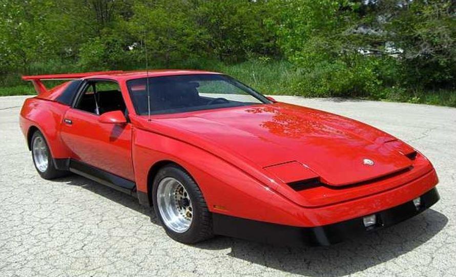 Pontiac Tojan: cuando General Motors quiso crear un rival para el Ferrari 308