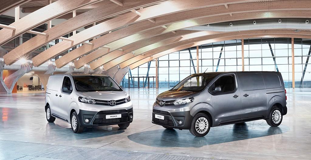 Toyota Proace 2016, ahora con una gama más variada y configurable