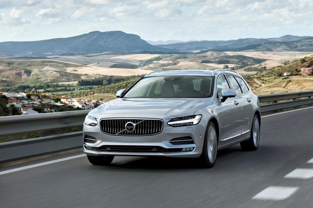 El Volvo V90 2016 comienza su producción en Suecia