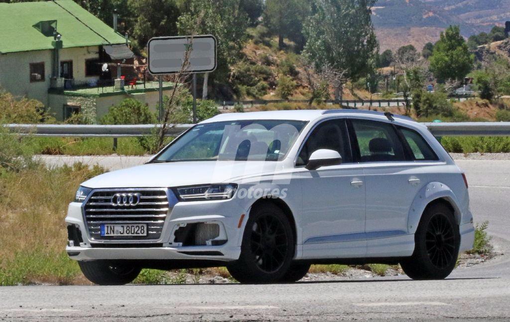 El desarrollo del Audi Q8 ya se ha iniciado y prueba de ello son estas fotos espía
