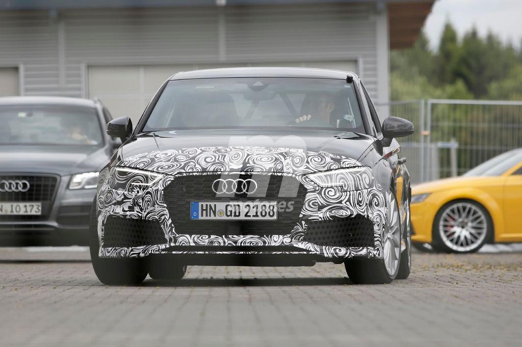 Audi RS3 Sedan 2017, primicia para el año que viene