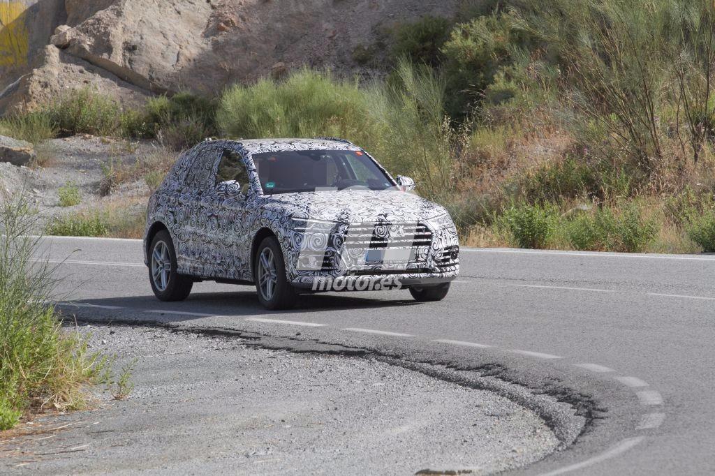 Nuevo Audi SQ5, cazado en España: el turbo eléctrico está cada vez más cerca