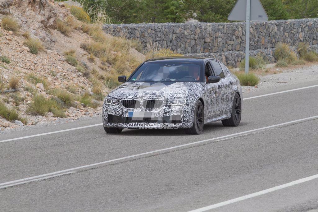 El BMW M5 (G30) se prepara para su estelar llegada