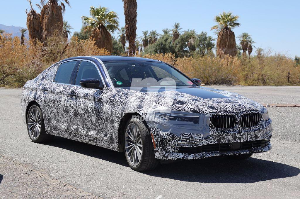 El interior del nuevo BMW Serie 5 2017 híbrido, al descubierto