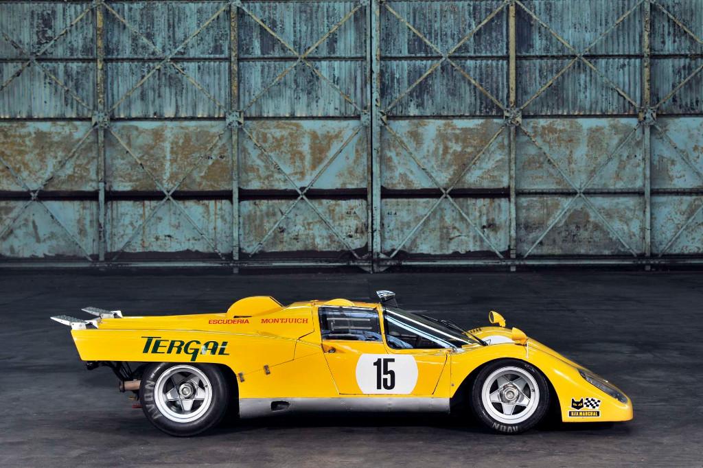 Los raros y veteranos Ferrari amarillos de competición: 512 M Escudería Montjuich