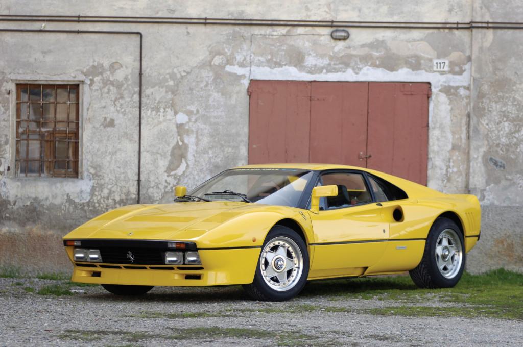 Los raros y veteranos Ferrari amarillos: el último 288 GTO prototipo superviviente