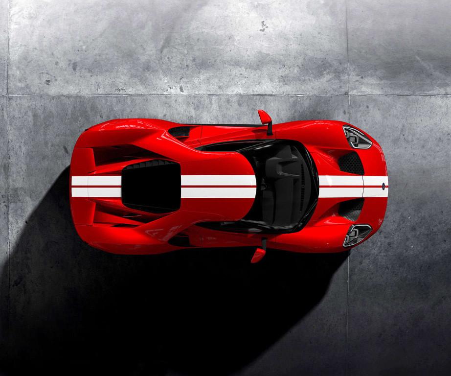 En detalle el funcionamiento de la aerodinamica activa del Ford GT 2017