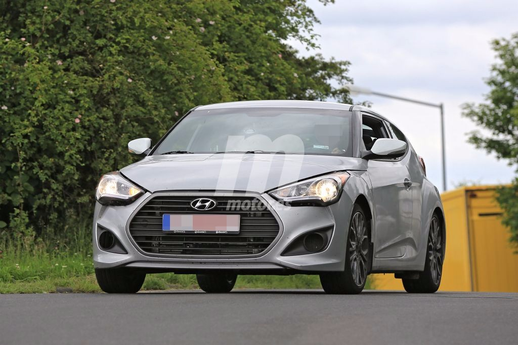 La nueva generación del Hyundai Veloster ya está de pruebas en Europa