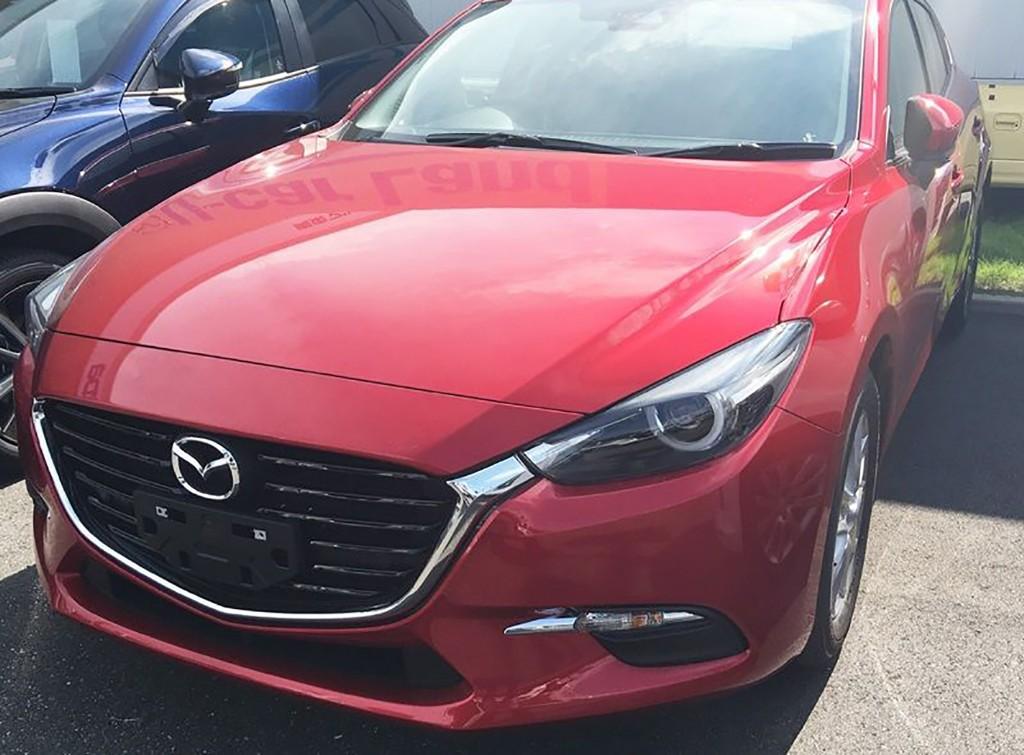 Mazda3 2017: su 'restyling', al descubierto en estas fotos espía
