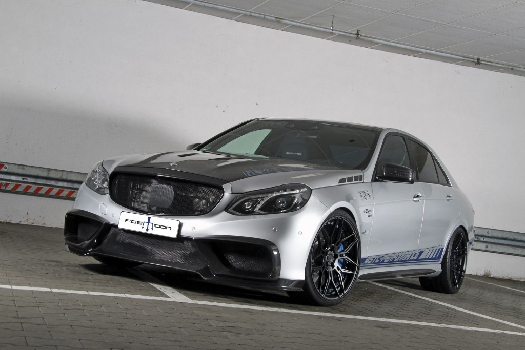 Más de 1.000 CV para este brutal Mercedes-AMG E 63 de Posaidon
