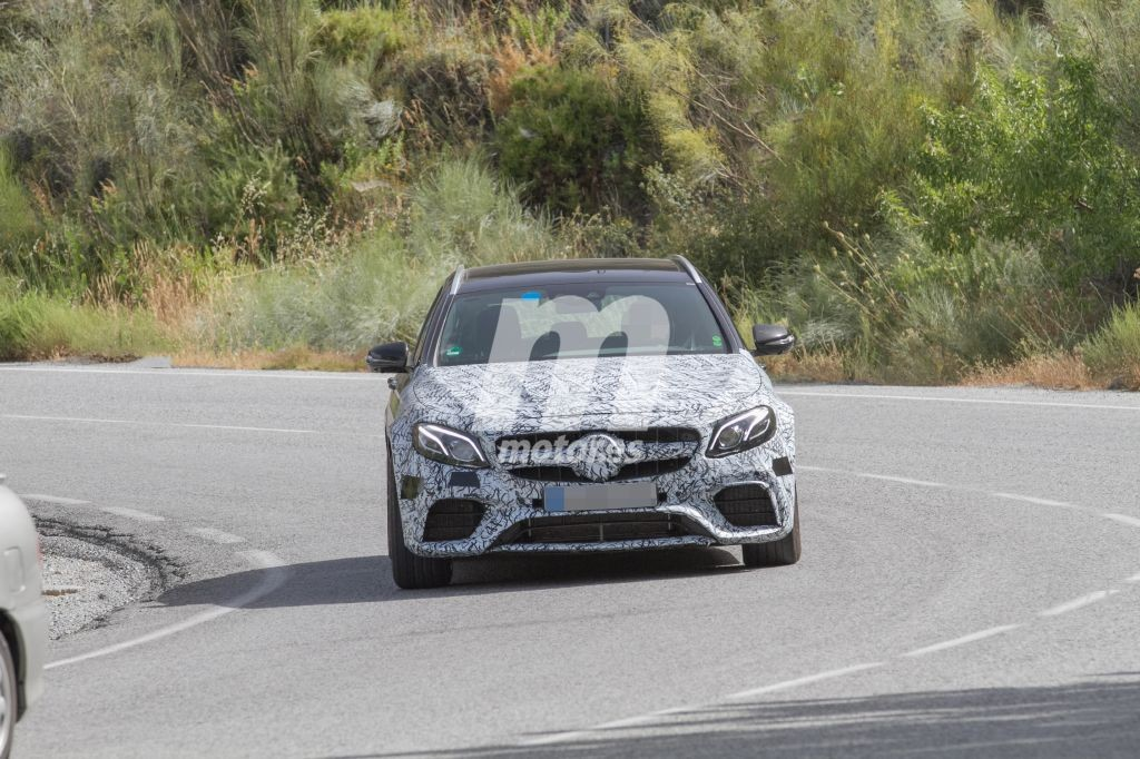 Mercedes-AMG E 63 Estate 2017, nuevas fotos espía del Clase E AMG familiar