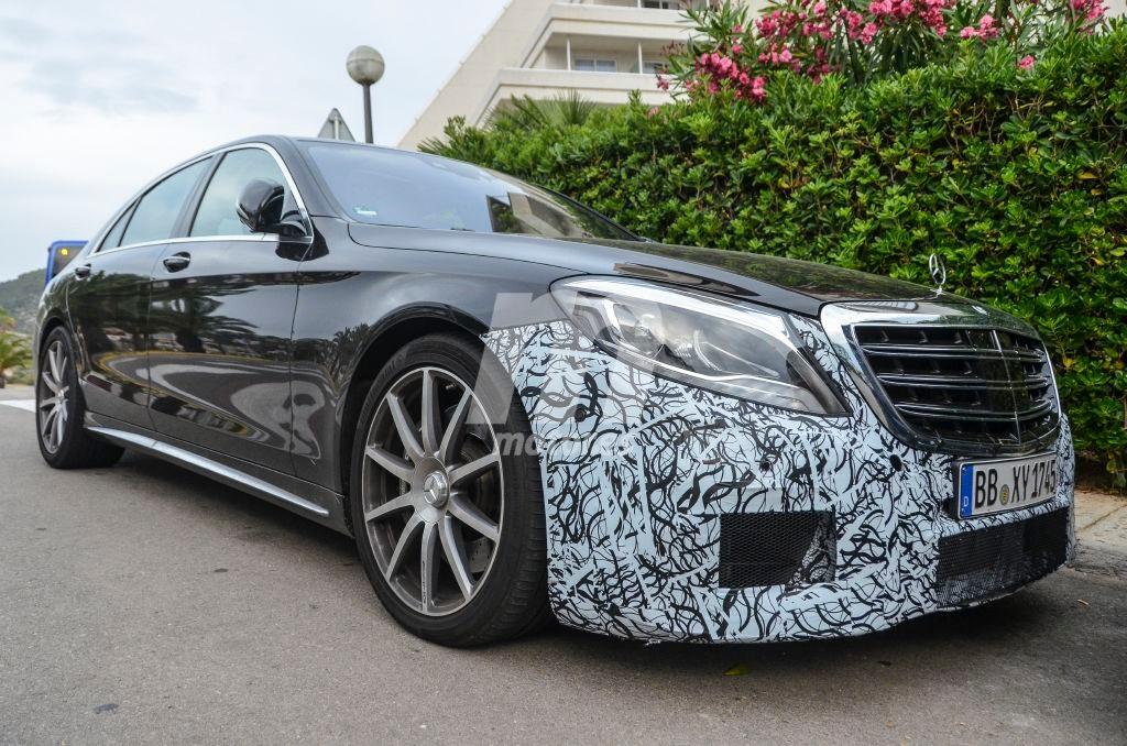 Mercedes-AMG S 63 2017: inminente 'facelift' para el Clase S AMG berlina