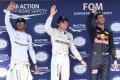 Hamilton y Ricciardo, molestos con Rosberg