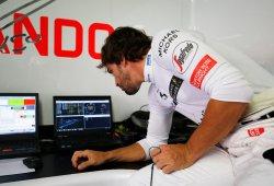 "Alonso: ""Ha sido una carrera irregular"""
