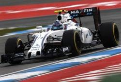 La estrategia de dos paradas no salva a Williams
