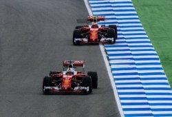 Ferrari a la estela de Mercedes en los libres de Hockenheim