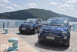 Conociendo al Fiat 500 Riva en Sarnico, Italia