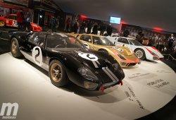 Reunidos los tres Ford GT40 protagonistas de las 24 Horas de Le Mans 1966