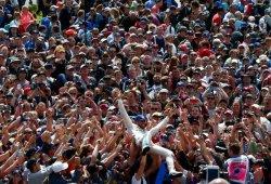 """Lewis Hamilton: """"¡El mejor fin de semana de todo el año!"""""""