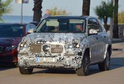 El Mercedes GLE 2018 estrenará una imagen renovada: nuevas fotos espía