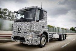 Mercedes presenta el camión eléctrico Urban eTruck