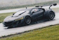 Prosigue el desarrollo del Acura NSX GT3