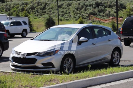 El Chevrolet Cruze LT 2017 con carrocería 'hatchback', al detalle