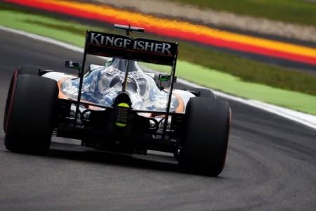 Optimismo en Force India tras una tarde provechosa