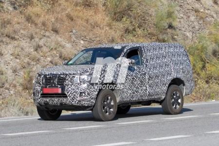 El nuevo Nissan Pathfinder 2018 de pruebas por Europa
