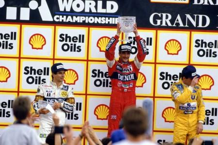 Vídeo: cuando Mansell le robó la cartera a Piquet, Silverstone '87