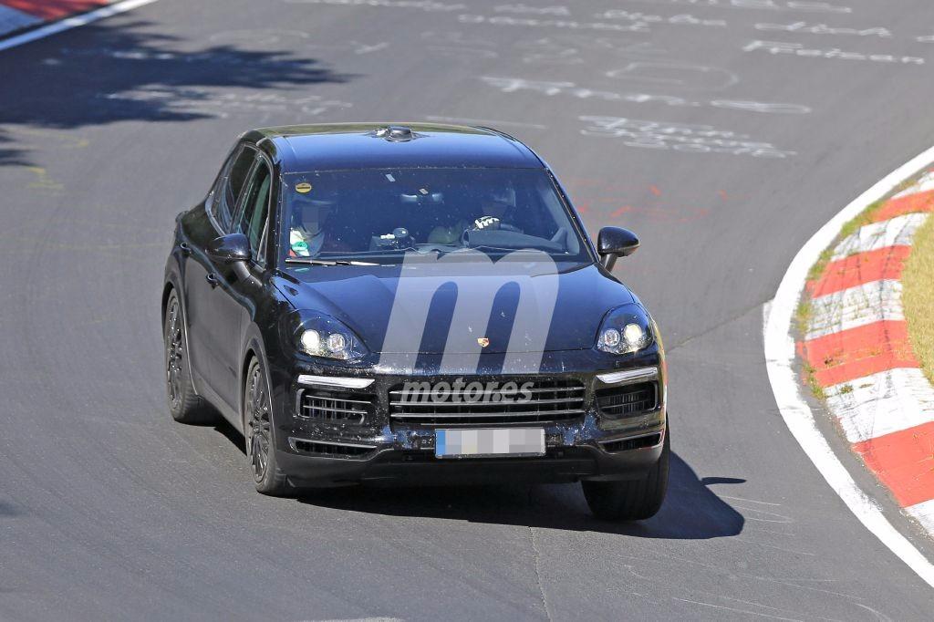 Porsche Cayenne 2018: nuevas fotos espía en Nürburgring