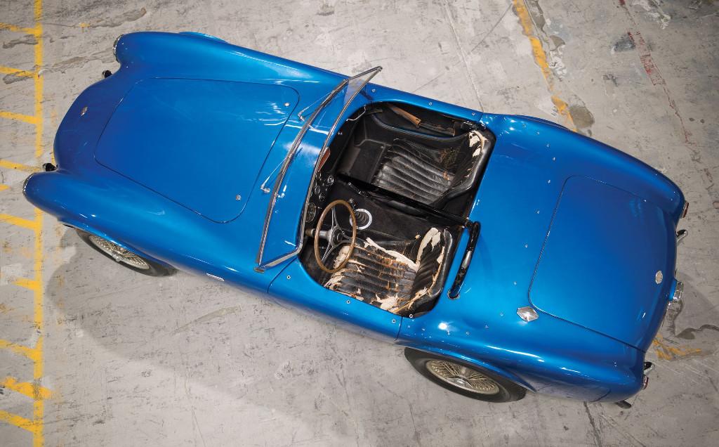 El primer Shelby Cobra será puesto a la venta por primera vez, su precio es un secreto