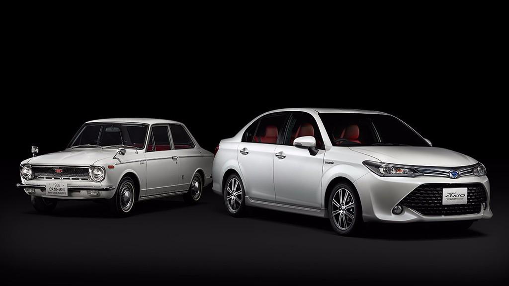 Toyota Corolla Axio 50 Limited: celebrando el medio siglo de vida del Corolla