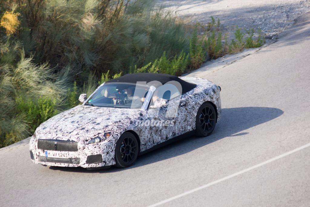 El desarrollo del BMW Z5 2018 continúa, y estas son las fotos espía más recientes