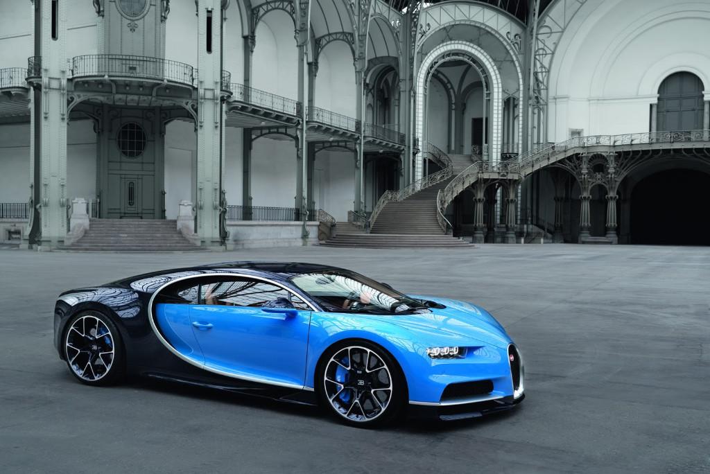 Bugatti se plantea sistemas híbridos para elevar el rendimiento del Chiron