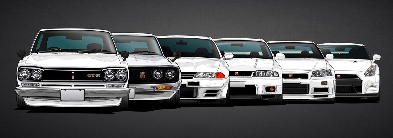 Historia Del Nissan Gt R La Leyenda De Godzilla Motor Es