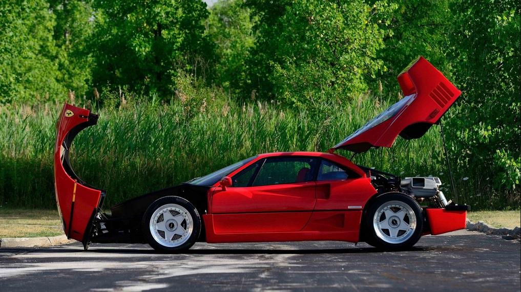 Nuevo récord: el Ferrari F40 más caro vendido en subasta