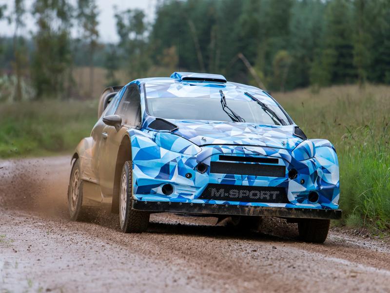 Malcolm Wilson inicia los test del Ford Fiesta RS WRC 2017