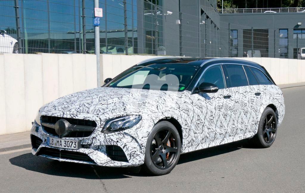 El Mercedes-AMG E63 Estate Black Series se libera de gran parte del camuflaje