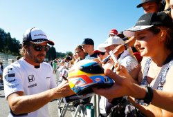 "Alonso: ""Venir a Monza es una experiencia legendaria"""